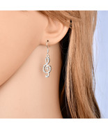 BAHYHAQ - Asymmetric Musical Notes Drop Earring Fashion Jewelry Accessories - $1.70