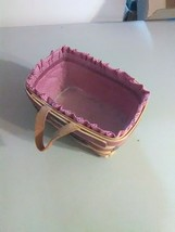 Royce Craft Key Basket - USA - Liner and Plastic Protector - 1997 - $9.20