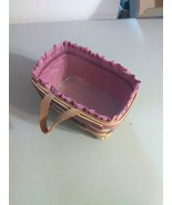 Royce Craft Key Basket - USA - Liner and Plastic Protector - 1997 - $9.20
