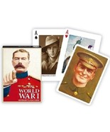 Playing Cards World War  I Centenary Piatnik Each Card is Different Non-... - $9.05