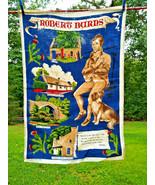 Wonderful Vintage Robert Burns Scottish Linen Dish or Kitchen Towel - Lo... - $10.00