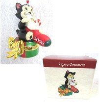 DISNEY Through the Years Collection Figaro Ornament 2006 Pinocchio New in Box - $26.45