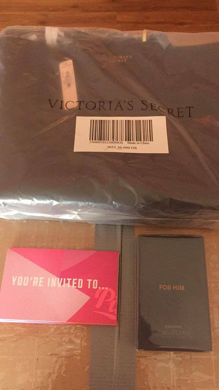 Victoria's Secret VSB GWP SP17 TEASETO & Very Sexy for Him Cologne e50 ml/1.7oz