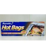 Reynolds Hot Bags Foil Bags Large Size 5-6 Servings Grill & Oven Vintage... - $24.75