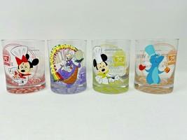 Disney Epcot 2020 Food Wine Festival Passholder Rocks Glasses Set 4 Figment AP - $89.09