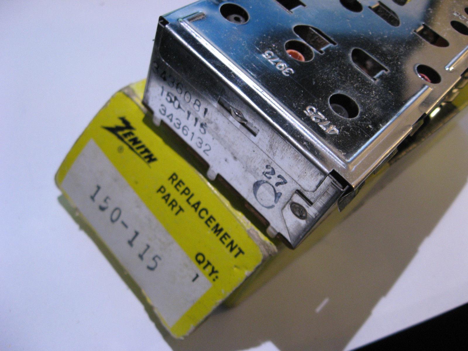 150-115 Zenith Replacement Part RF Module Television TV - NOS Vintage