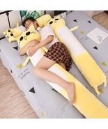 90 165cm Giant Cute Toys Cute Yellow Cat Pllow Soft Cushion Stuffed Anim... - $79.50