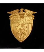 Vintage Fishburne military Badge / military academy / Army JROTC / rober... - $95.00