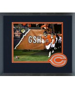 Mitch Trubisky 2018 Chicago Bears Pre-Game Action-11x14 Matted/Framed Photo - $43.55