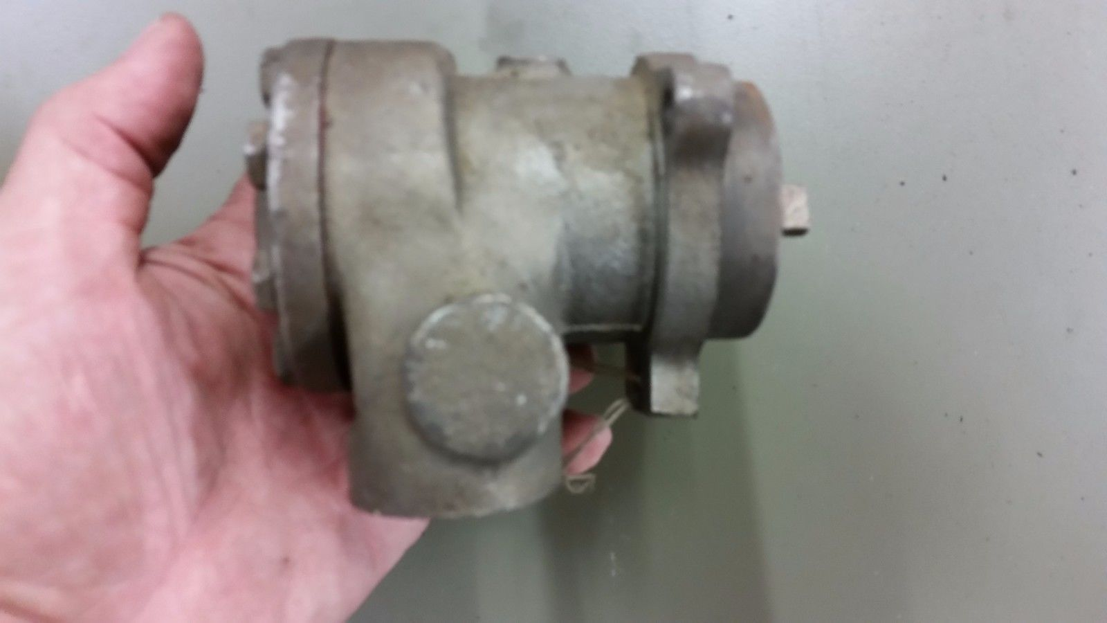"Tuthill 1LEA tang drive hydraulic lube oil rotary gear Pump 1/2"" Ports 1LPF CC A"