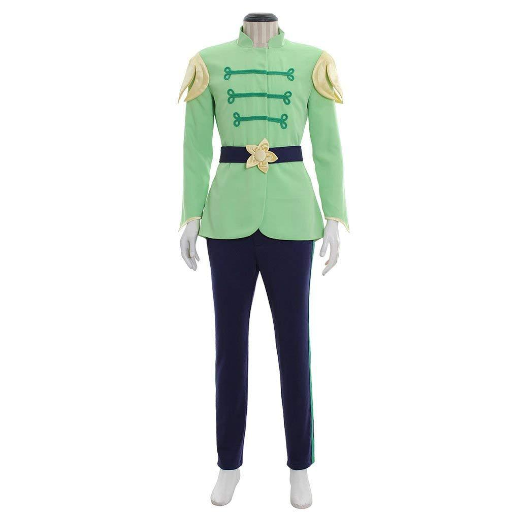 Prince Naveen Costume Men Suit Halloween Party Outfit Custom Any Size image 3