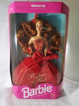 Mattel 1992 #1276 Radiant in Red Barbie Rich Red Elegance from head to T... - $23.36