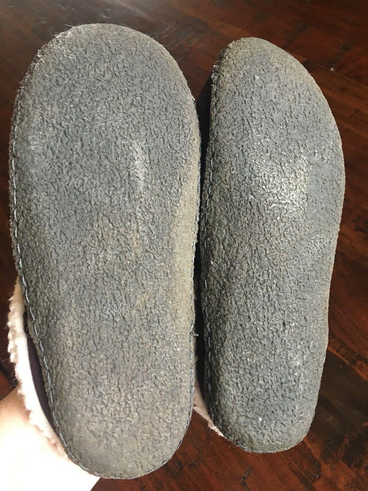 SOREL 9381 Womens Nakiska LILAC Purple Suede Clog Slippers Shoes 6 M #176 image 7