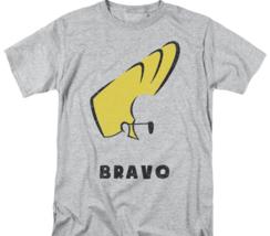 Johnny Bravo T-shirt cartoon network Retro 90's heather gray graphic tee CN504 image 2