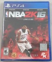NBA 2K16 PlayStation 4 PS4 - Manual included - $5.83