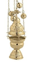 Brass Christian Church Thurible Incense Burner Censer (9390 B) - $69.08