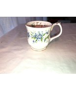 Royal Albert Forget Me Not Cup Flower of the Month Series England Bone C... - $25.49