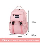 New Laptop Women Backpack External USB Charge Computer Bagpa Anti-Theft ... - $77.74
