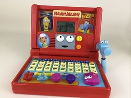 Handy Manny Learning Construction Laptop with Hammer Computer Toy Disney... - $49.45