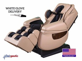 Luraco Cream iRobotics i7 3D Zero Gravity Massage Chair White Glove Deli... - $171.626,57 MXN