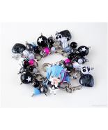 Rizero Rem Figure Charm Bracelet, Gothic Lolita, Jfashion, OOAK - $56.00