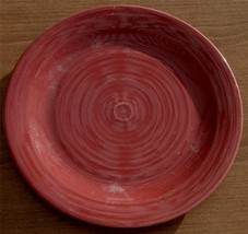 """Gently Used Home Trends Brand Stoneware 10.5"""" Dinner Plate, Maroon Color, Vgc - $17.81"""
