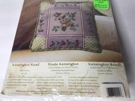 Bucilla Needlepoint Pillow Kit - Kensington Road  #4904 Tracy Porter 2005  NEW - $19.78
