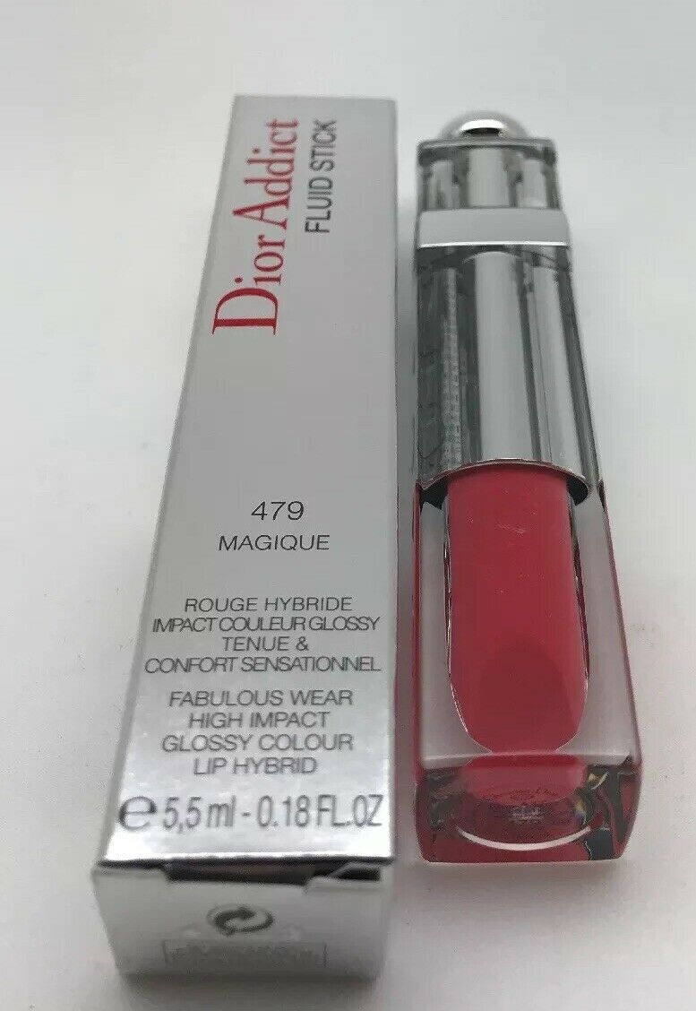 Primary image for CHRISTIAN DIOR--DIOR ADDICT FLUID STICK LIP GLOSS, 479 MAGIQUE,0.18 OZ.~Rare !!!