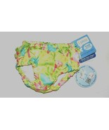 i Play Ulitmate Swim Diaper Light Green Palm Trees Sea Animals Size XLar... - $12.60