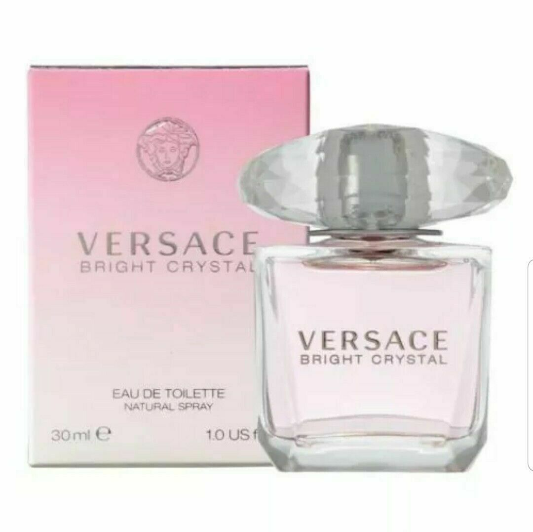 Primary image for Versace Bright Crystal By Versace 1.0 Oz EDT Spray NIB Sealed Perfume For Women