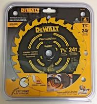 """Dewalt DW7112PT 7-1/4"""" x 24T Precision Trim Saw Blade 5/8"""" Arbor Carbide... - $6.93"""