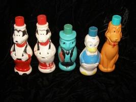 Disney Soaky Bubble Bath Colgate Imco Jiminy Cricket Goofy Pluto Donald ... - $28.99