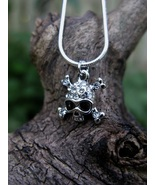 FREE w/ $100 purchase Haunted Super Blood Moon Eclipse Skull Amulet Spel... - $0.00