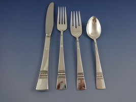 Diadem by Reed & Barton Sterling Silver Flatware Service 12 Set 54 Pcs Modernism - $4,750.00