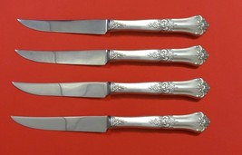 "Stately by State House Sterling Silver Steak Knife Set 4pc HHWS  Custom 8 1/2"" - $247.10"