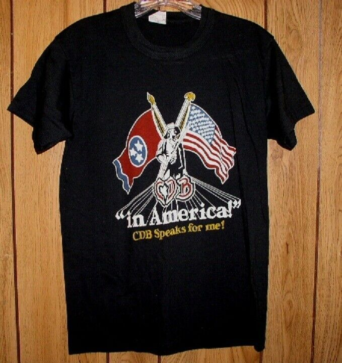 Primary image for Charlie Daniels Band Concert Tour T Shirt Vintage 1980