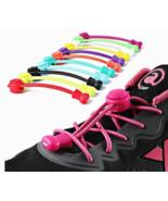 """40"""" No Tie Elastic Round Shoelaces No Tie Shoestrings Quick Locking Shoe... - $8.39"""