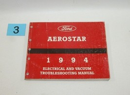 1994 Ford Aerostar Electrical and Vacuum Trouble Shooting Service Manual USED 3 - $14.80