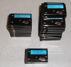 Lot of 26 Lithium Ion Batteries 3.6V for Motorola i50sx/i85s/V60c - $50.00