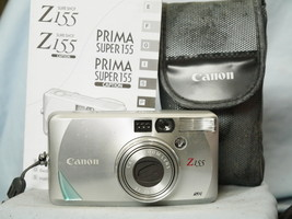 Canon Sure Shot Z155 Zoom Quality 35mm Compact Camera Cased + Inst -Nice- - $35.00