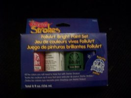 Plaid Starter Strokes Paints - $12.86