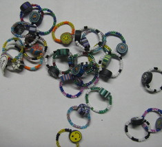 Wholesale lot of 12 pieces Hippie Hippy Childs Rings assorted styles for... - $9.98