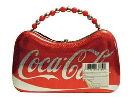 "Coca Cola Tin Purse by Tin Box Company, 8.5"" x 5"" x 3"", Brand New image 2"