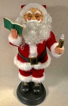 """1998 20"""" TELCO MOTIONETTE SANTA CLAUS READING THE NIGHT BEFORE CHRISTMAS - $49.49"""