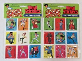 1994 Speed Racer Vinyl Stickers from Gordy Toy - $19.80