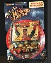 Jeff Gordon #24 Die-Cast Collector Driver Sticker Series RCC AAA19-NC8016 image 2