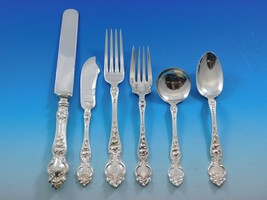 Violet by Wallace Sterling Silver Flatware Set For 12 Service 88 Pieces - $4,400.00