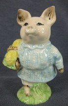 Royal Albert Beatrix Potter Little Pig Robinson Figurine BP-6 England 3 ... - $37.95