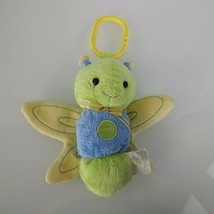 Carters Just one Year Crinkle Stuffed Plush Clip on Ring Link Butterfly ... - $19.77