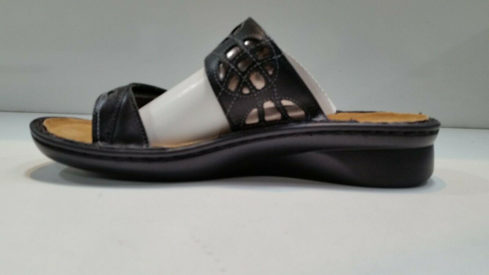 Naot Women's Cornet Black Raven Silver Shoes Size 39